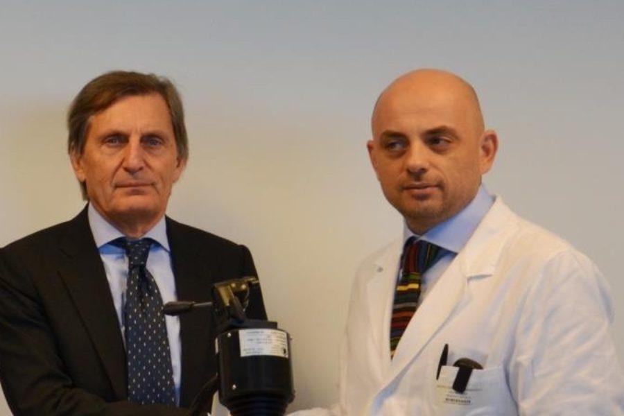 BPER dona all'Ospedale di Sassuolo una speciale attrezzatura per eseguire la terapia fotodinamica
