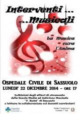 Natale 2014 La Musica cura l'Anima