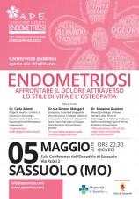 endometriosi Sassuolo 5 maggio 2016