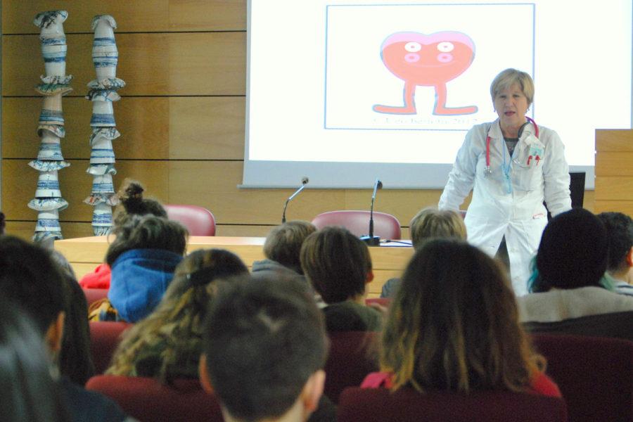 Cardiologia, le scuole medie in ospedale per parlare di prevenzione e corretti stili di vita