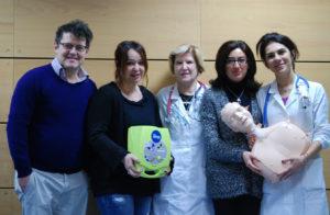 Francesconi Armando; Myrian Maffoni (insegnante Leonardo); Ermentina Bagni; Arianna Bifulco (insegnante Leonardo) e Camellini Marcella