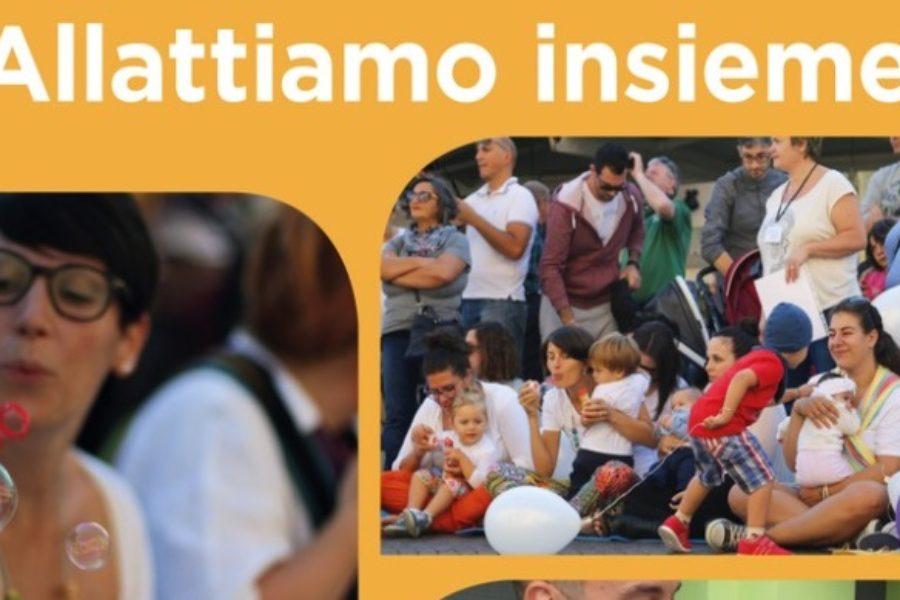 Settimana dell'allattamento, sabato 6 ottobre 'flash-mob' al Centro per le famiglie