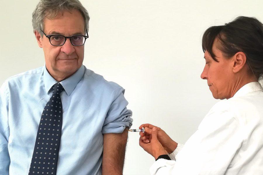 Vaccinazione antinfluenzale, si inizia dando il buon esempio…
