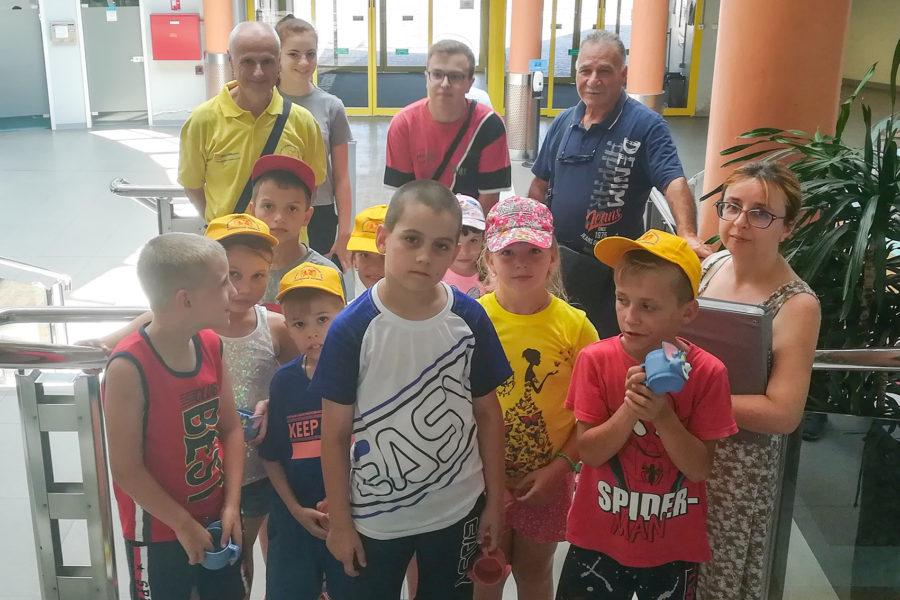 Da Chernobyl' 19 bambini per fare esami e visite mediche in ospedale a Sassuolo