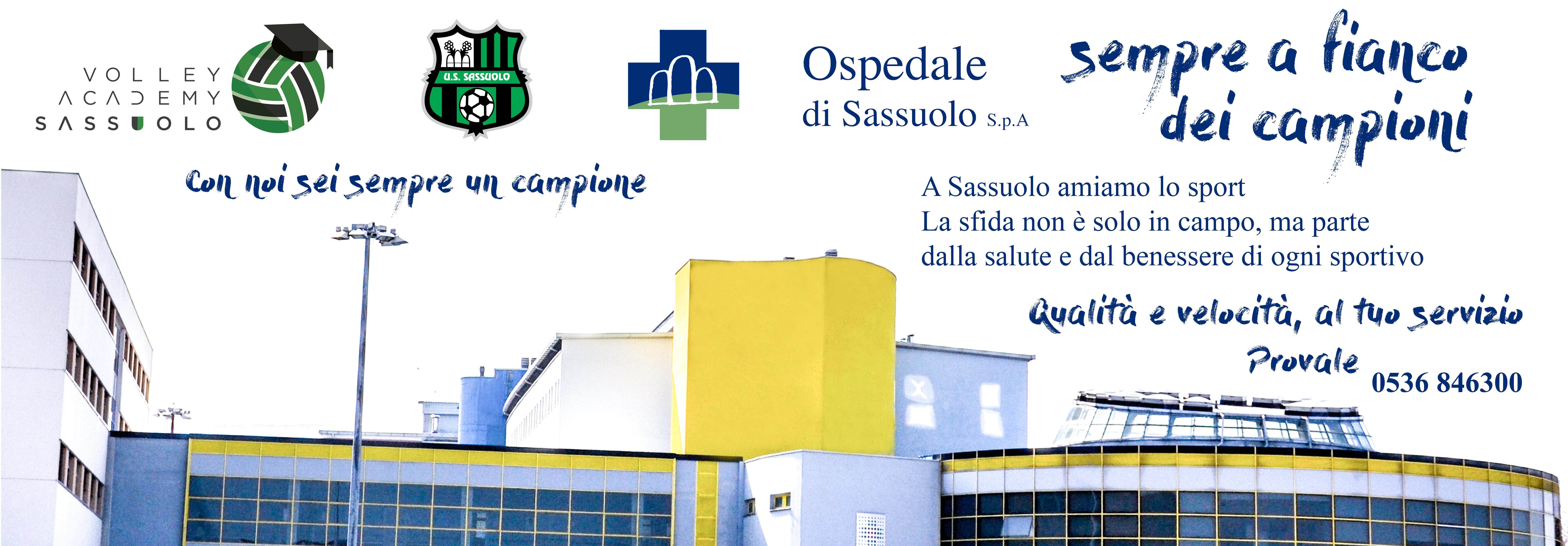 Sport e Ospedale di Sassuolo