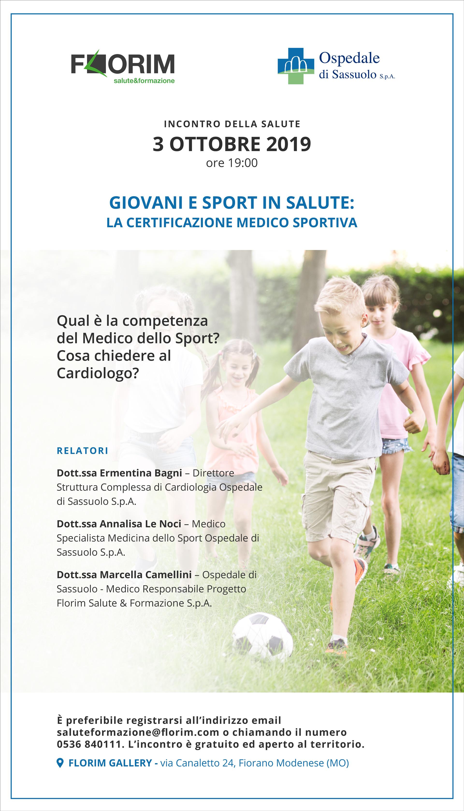 Cos E La Medicina Dello Sport A Cosa Serve Ospedale Sassuolo