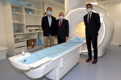 Ospedale, nuova Risonanza Magnetica intitolata a 'Enzo Ferrari'