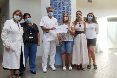 L'associazione 'Non è colpa mia' dona 1.500 euro per la Pediatria