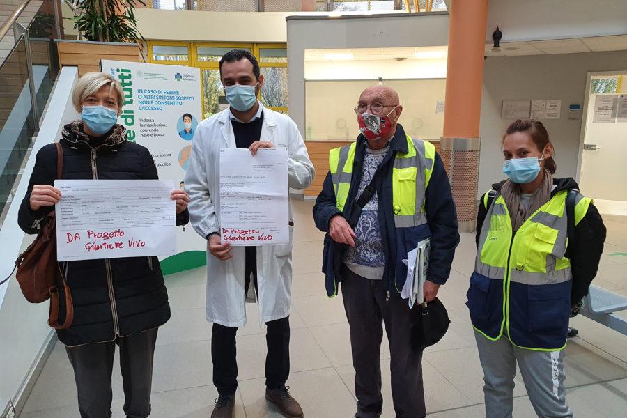 Donazione all'ospedale dal progetto #Sassuolocittattiva